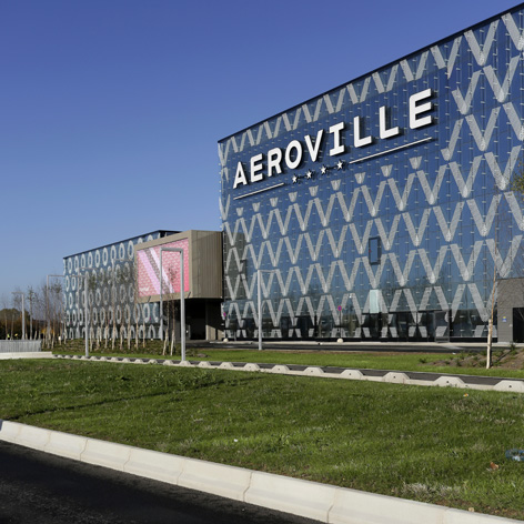 Centre commercial a roville - Centre commercial aeroville ...